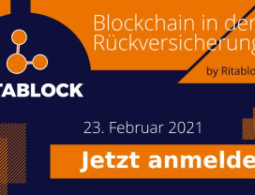 Ritablock Webinar – Rückversicherung und Blockchain – 3. Ausgabe