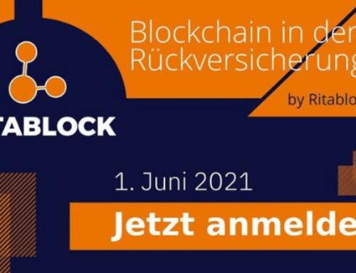 Ritablock Webinar – Rückversicherung und Blockchain – 4. Ausgabe