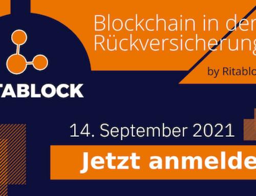 Ritablock Webinar – Rückversicherung und Blockchain – 5. Ausgabe.